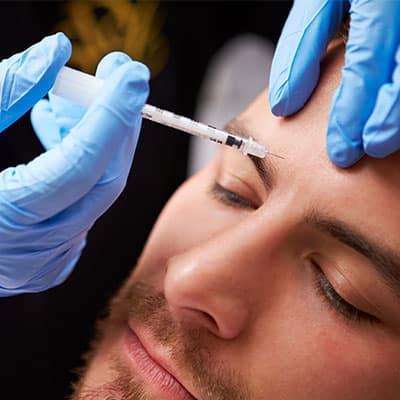 man botox injection