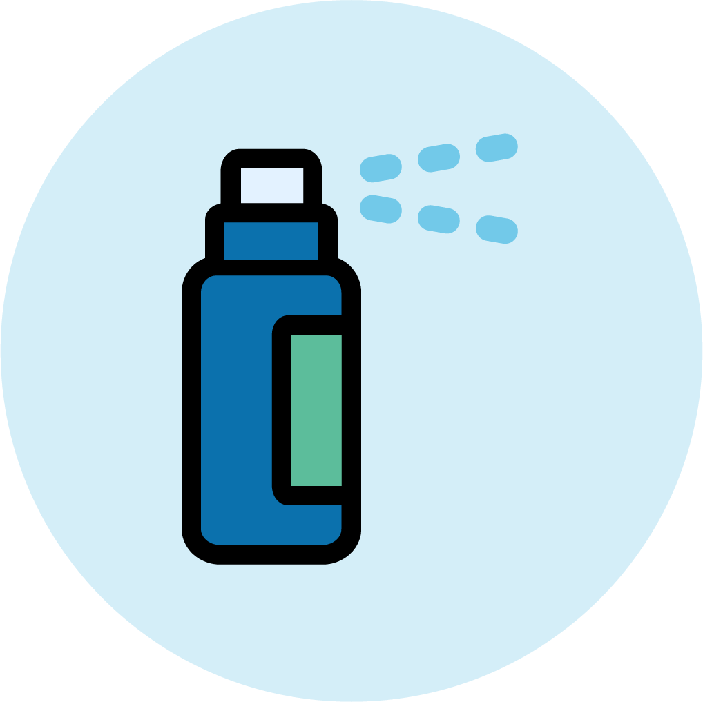 Antiperspirants icon